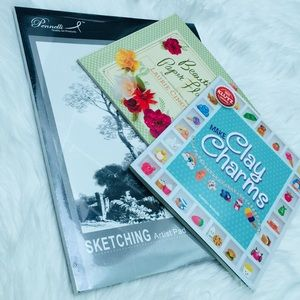 Sketch pad & activity art books guide